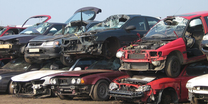 Do you have a totalled car?